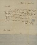 John V. Henry to Peter Kean, August 10, 1820