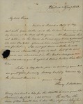 Henry I. Williams to Peter Kean, January 2, 1821