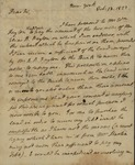 John Henry Hobart to Peter Kean, February 13, 1822 by John Henry Hobart