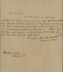 Sarah Sabina Kean to Miss Rutherford, February 15, 1822 by Sarah Sabina Kean
