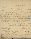 John William Kearney to Peter Kean, April 5, 1823