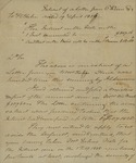 Beverly Robinson to Peter Kean, March 31, 1826 by Beverly Robinson