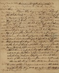 O. H. Spencer to Peter Philip James Kean, May 17, 1826 by O. H. Spencer