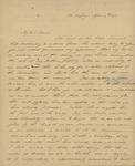 E.B. Houstoun to Peter Kean, April 14, 1827