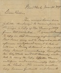 Beverly Robinson to Peter Kean, June 14, 1827
