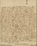E. Rosa Armstrong to Peter Philip James Kean, September 16, 1827