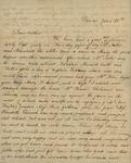 Julia Ursin Niemcewicz Kean, Sarah Louisa Jay Kean, Susan Ursin Niemcewicz, and Sarah Sabina Kean to John Kean, January 30, 1828