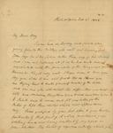 Peter Kean to John Kean, February 3, 1828