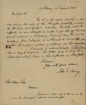 John V. Henry to Peter Kean, March 26, 1828 by John V. Henry