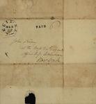 Peter Kean and Sarah Sabina Kean to John Kean, March 27, 1828