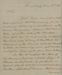 Beverly Robinson to Peter Kean, May 12, 1828