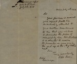 Peter Kean to F. Roumage, July 10, 1828