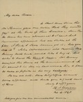 Henry I. Williams to Peter Kean, October 2, 1828