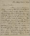 Beverly Robinson to Sarah Sabina Kean, February 5, 1829 by Beverly Robinson