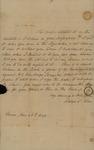 Sarah Kean to William Pennington, June 23, 1829
