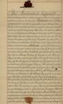 Indenture between Sarah Sabina Kean,  Peter Van Brugh Livingston, and William G. Bucknor, July 1, 1829