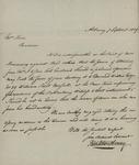 Peter Seton Henry to Sarah Sabina Kean, September 7, 1829 by Peter Seton Henry