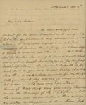 Henry I. Williams to Peter Kean, October 5, 1829 by Henry I. Williams