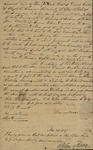 Indenture Elenor Wilson, Nicholas A. Wilson, and Nicholas Arrowsmith with Daniel Conklin and later John Kean, December 14, 1829