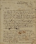 Peter Kean to J. R. Livingston, July 14, 1820