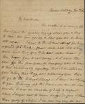 Sarah Sabina Baker to John Kean, January 23, c. 1832 by Sarah Sabina Baker