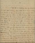 Sarah Sabina Baker to John Kean, February 10, c.1832 by Sarah Sabina Baker