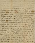 Sarah Sabina Baker to John Kean, 1832 or 1833 by Sarah Sabina Baker