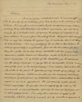 Charles Beck to Sarah Sabina Kean, January 1, 1830
