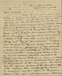 James M. Wayne to Sarah Sabina Kean, January 12, 1830 by James M. Wayne