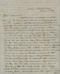 James M. Wayne to Sarah Sabina Kean, February 16, 1830