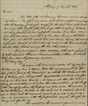 Peter Seton Henry to Sarah Sabina Kean, March 17, 1830 by Peter Seton Henry