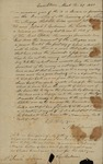 Abraham Baldwin to Sarah Kean, March 27, 1830 by Abraham Baldwin