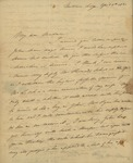 Smith Pyne to Sarah Sabina Kean, April 5, 1830