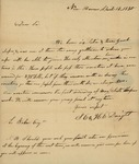 S.E. Dwight and H.E. Dwight to Looe Baker, April 12, 1830