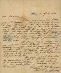 H. Bleecker to Sarah Sabina Kean, April 21, 1830