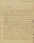 Charles Beck to Sarah Sabina Kean, July 2, 1830 by Charles Beck