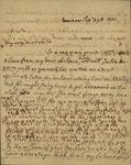 Susan Ursin Niemcewicz to John Kean, September 29, 1830