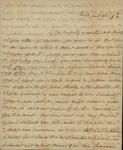 Sarah Sabina Kean to John Kean, October 9, 1830 by Sarah Sabina Kean