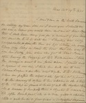 Sarah Sabina Kean to John Kean, October 19, 1830 by Sarah Sabina Kean