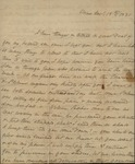 Sarah Sabina Kean to John Kean, November 15, 1830
