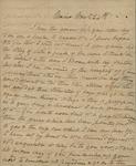 Sarah Sabina Kean to John Kean, November 24, 1830 by Sarah Sabina Kean