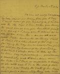 Sarah Sabina Kean to John Kean, December 20, 1830 by Sarah Sabina Kean