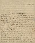 Sarah Sabina Baker to John Kean, February 1, 1831