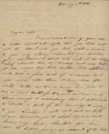 Julia Ursin Niemcewicz Kean to John Kean, February 5, 1831 by Julia Ursin Niemcewicz Kean