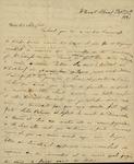 Julia Ursin Niemcewicz and Sarah Sabina Baker to John Kean, February 15, 1831 by Julia Ursin Niemcewicz Kean and Sarah Sabina Baker
