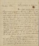 Looe Baker to John Kean, February 20, 1831 by Looe Baker