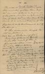 Essex Orphan Court Accounts of Sarah S. Baker, late Sarah S. Kean, Admistratrix of Peter Kean, deceased, 1831 by Sarah Sabina Baker