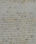 H.G. Tume to John Kean, March 1, 1834