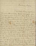 Sarah Sabina Baker to John Kean, March 7, 1834