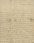 Sarah Sabina Baker to John Kean, April 6, 1834 by Sarah Sabina Baker
